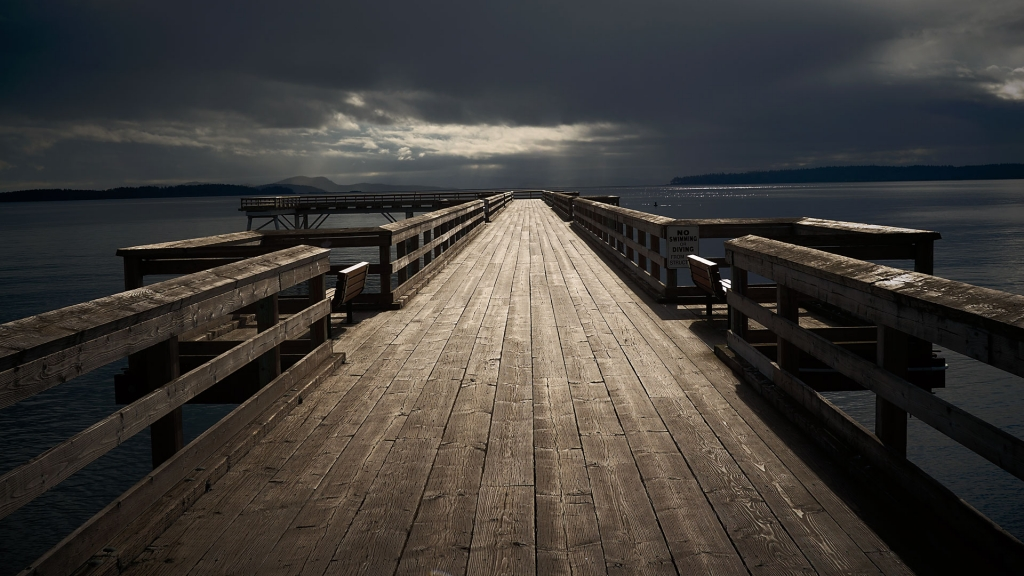 Portrait location idea, Sidney Pier, Sidney, BC.