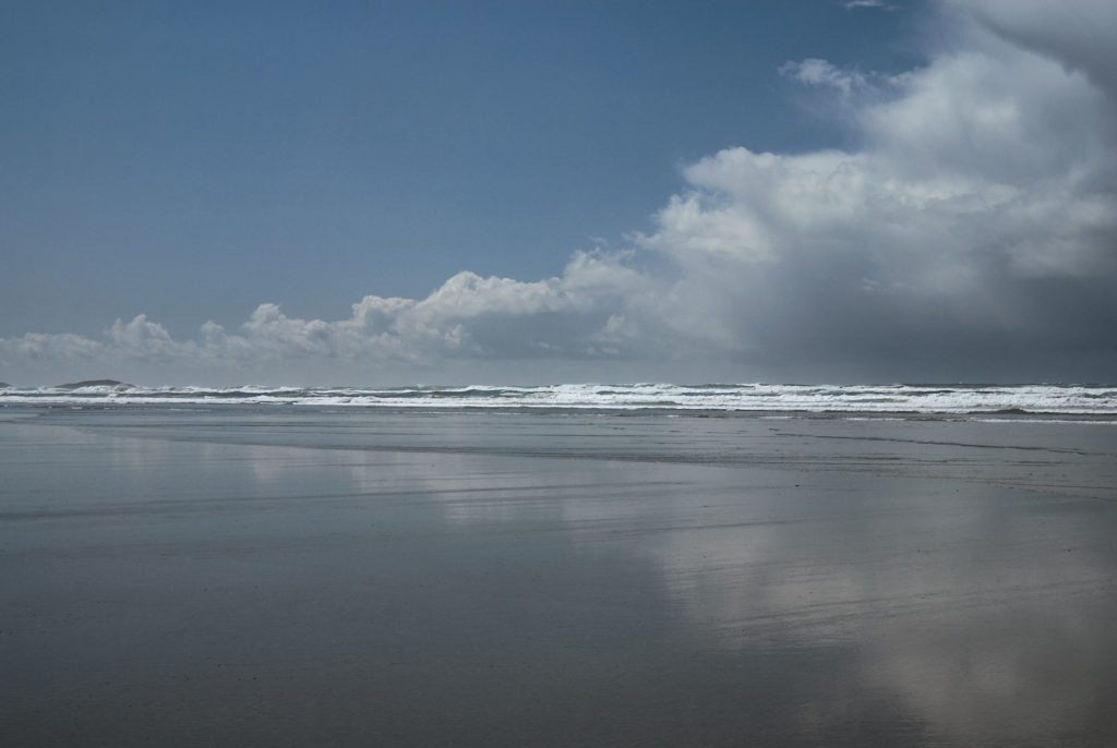 Cumulus Reflected, Long Beach, Pacific Rim National Park.